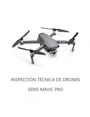 Inspección Técnica Drones Serie Mavic...