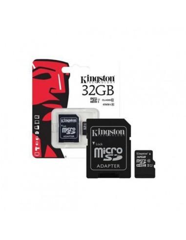 Tarjeta de memoria Kingston microSDHC...
