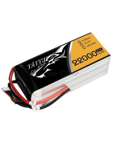 Tattu 22000mAh 22.2V 25C 6S1P Lipo...