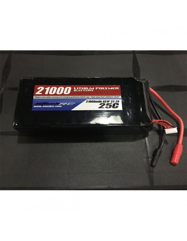 Bateria lipo 21000 mA 25C 6S1P 22.2V