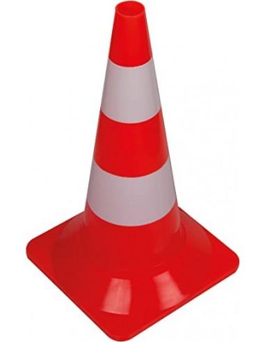 Señal de seguridad cono - rojo/blanco
