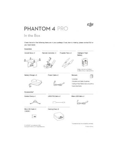 DJI Phantom 4 PRO (Obsidian)